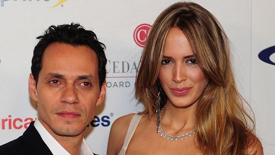 Marc Anthony s manželkou Shannon De Limou.