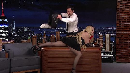 Madonna v show Jimmyho Fallona