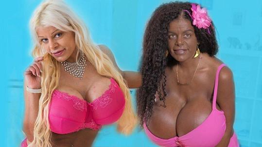 Martina Big už se cítí jako černoška.
