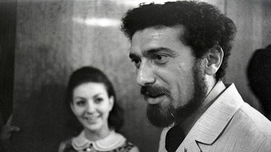 Jitka Zelenohorská a Waldemar Matuška tvořili krásný pár.