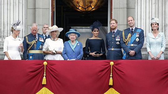Kdo z královské rodiny má nárok na ochranku?