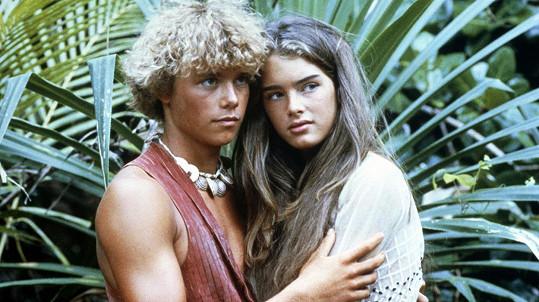 Christopher Atkins a Brooke Shields v Modré laguně