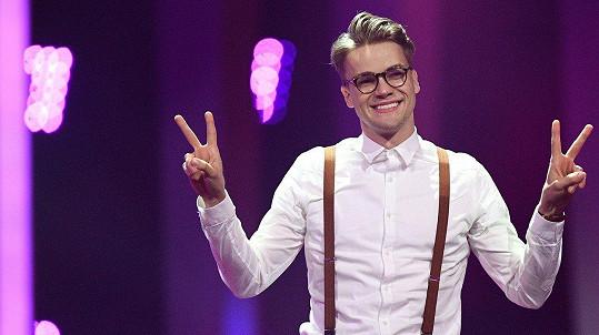 Mikolas Josef skončil uspěl ve finále Eurovize.