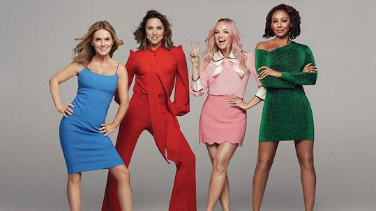 Spice Girls vyrazí na turné bez Victorie.