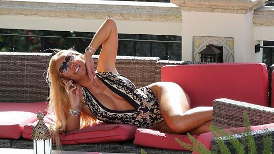 Aisleyne Horgan-Wallace (38) si užívá dovolenou v Los Angeles.