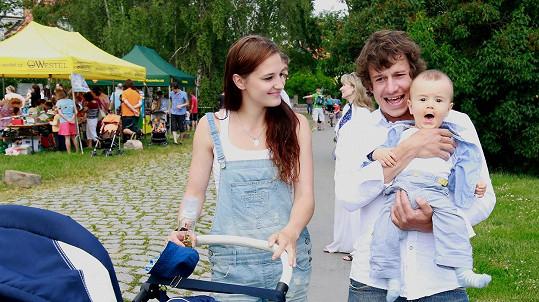 Martin Kraus je pyšným otcem.