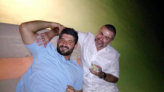 Fadi Fawaz s Georgem Michaelem