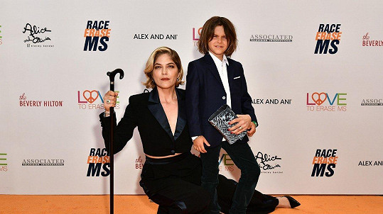 Selma Blair se synem Arthurem