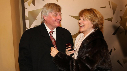 Taťjana Medvecká s manželem