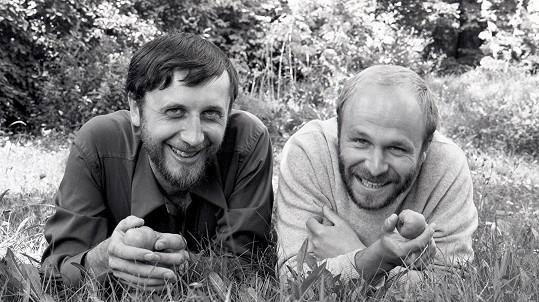 Jan Vodňanský a Petr Skoumal na konci 60. let