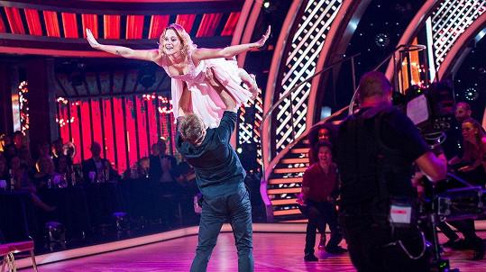 Emma Drobná září v Let´s Dance.
