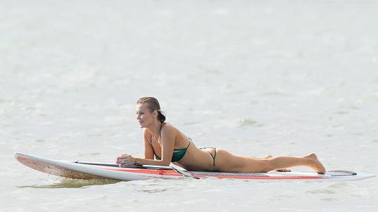 Modelka Joanna Krupa na dovolené v Miami