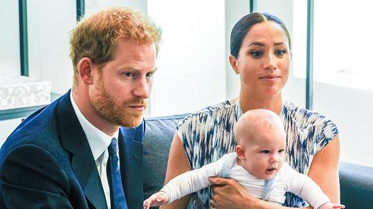 Harry s Meghan promluvili o synkovi Archiem.