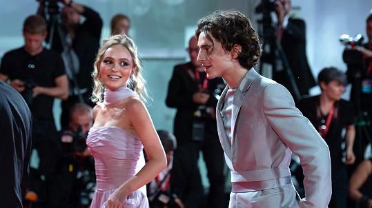 Timothée Chalamet a Lily-Rose Depp už netvoří pár.