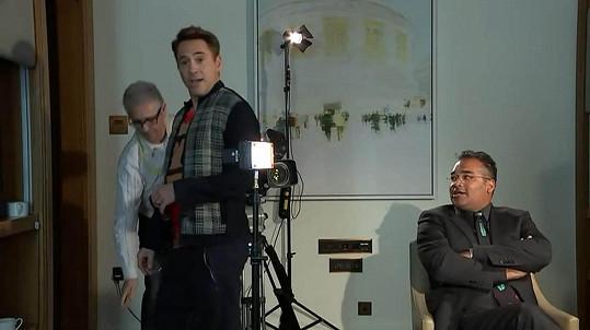Robert Downey Jr. si nenechá jen tak něco líbit.