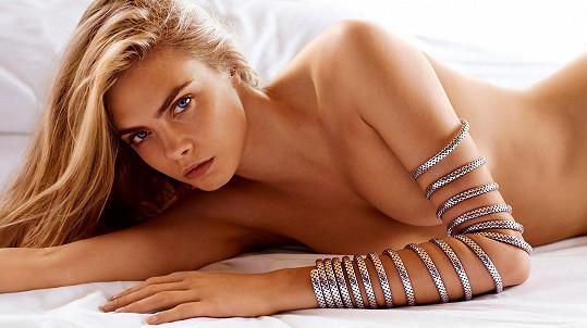 Cara Delevingne je nejlépe placenou modelkou Británie za rok 2020.