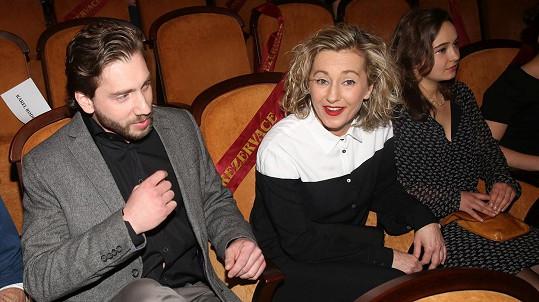 Vanda Hybnerová na premiéře Rodinného filmu