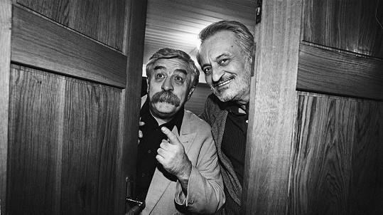 Július Satinský a Milan Lasica