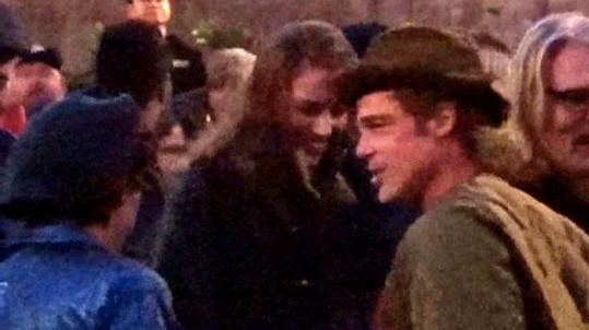 Brad Pitt s Nicole Poturalski