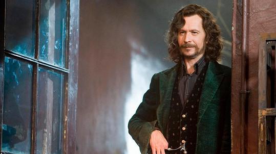 Gary Oldman jako Sirius Black v Harrym Potterovi