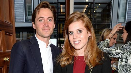 Princezna Beatrice s manželem
