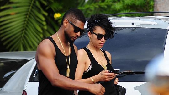 Usher a Grace už tvoří manželský pár.