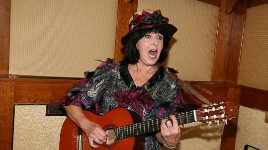 Věra Nerušilová na snímku z roku 2007