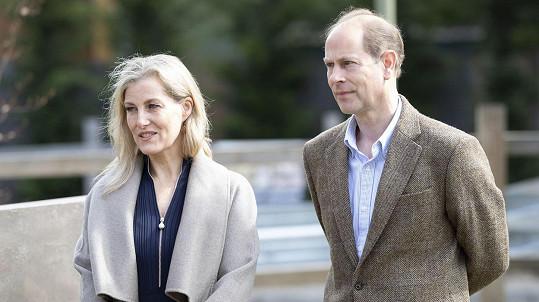 Princ Edward s manželkou Sophií