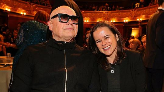 Jiří Korn s manželkou