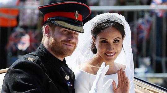 Harry a Meghan slaví roční výročí svatby!