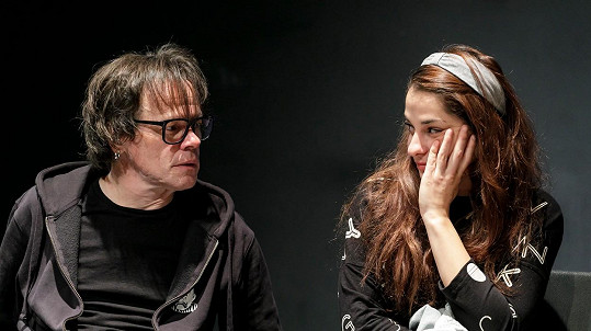 Monika Potokárová s manželem Robertem Rothem