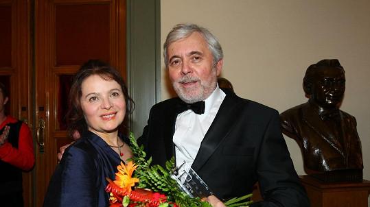 Josef Abrhám a Libuška Šafránková na archivním snímku