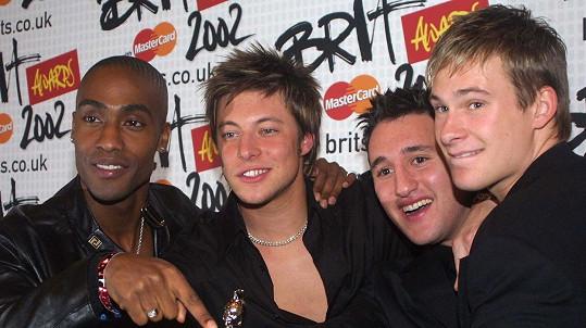 Lee Ryan (úplně vpravo) se proslavil díky skupině Blue.