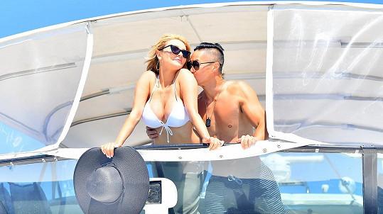 Courtney Stodden a Chris Cheng vyrazili na jachtu.