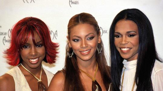 Zleva: Kelly Rowland, Beyoncé a Michelle Williams.