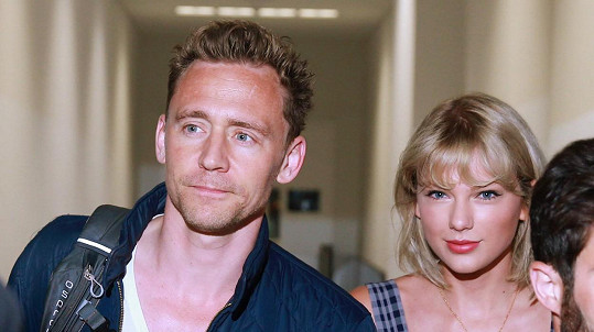 Taylor Swift a Tom Hiddleston