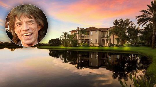Mick Jagger koupil partnerce vilu na Floridě.