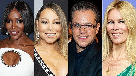 Celebrity, které v roce 2020 oslavily 50. narozeniny