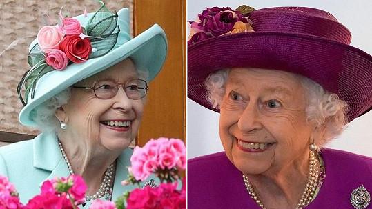 Královna Alžběta II a její módní klobouky