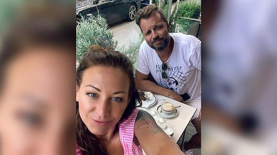 Agáta odletěla s přítelem na dovolenou