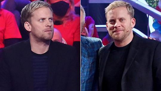 Jakub Prachař na snímcích z ledna a dubna (vlevo). Během tří měsíců zhubl osm kilo.