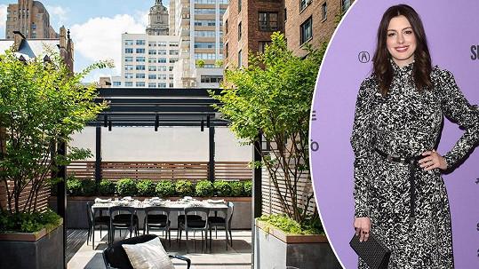 Anne Hathaway prodává svůj newyorský byt.
