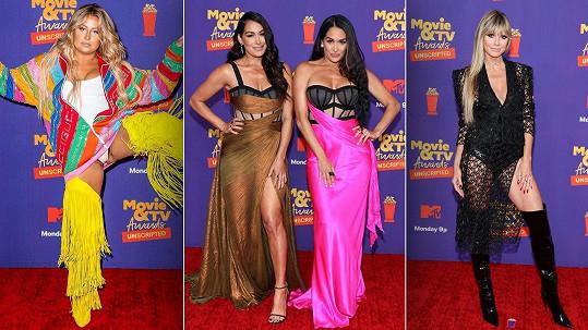 Divoké modely z předávání cen MTV