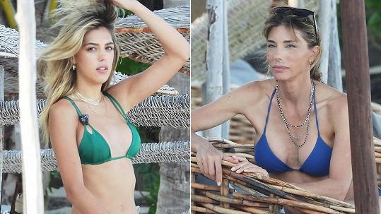 Sistine Rose Stallone s maminkou Jennifer