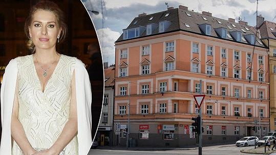 Olga Menzelová prodává byt, ve kterém žila s manželem Jiřím a dětmi v posledních deseti letech.