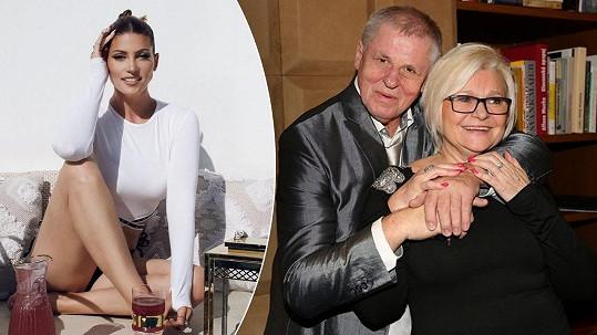 Zprávy o zdravotním stavu maminky popové princezny Kerndlové.