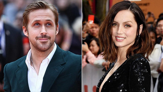 Ryan Gosling a Ana de Armas