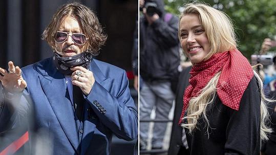 Johnny Depp u soudu