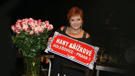 Hana Křížková oslavila velké jubileum.