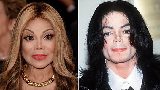La Toya jde do podoby Michaela.